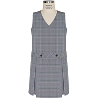 Bradford Plaid Box Pleated Shift