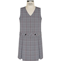 Hanover Plaid Box Pleated Shift