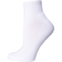 White Athletic Socks with School Logo