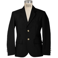 Black Boys Blazer  with School Logo
