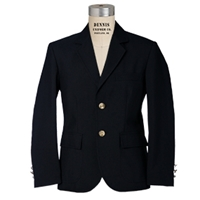 Navy Mens Blazer  with School Logo
