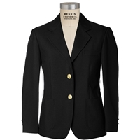 Black Girls Blazer with School Logo
