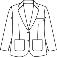 Burgundy Girls Blazer with School Logo