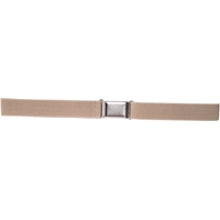 Khaki Belt With Magnetic Buckle