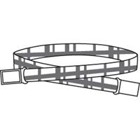 Belt Web with Magnetic Closure-RR Plaid