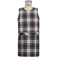 Carden Plaid Box Pleated Shift