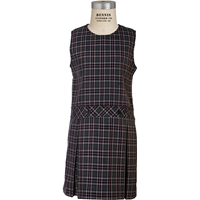 MM Plaid Box Pleated Shift