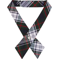 Lloyd Plaid Pearl Snap Crossover Tie