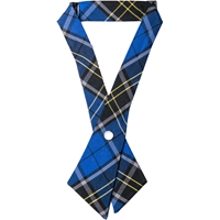 Mayfair Plaid Pearl Snap Crossover Tie