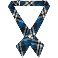 Rampart Plaid Pearl Snap Crossover Tie
