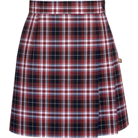 Ridgeland Plaid Side Pleat Skort
