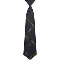Belair Plaid Clip-On Neck Tie