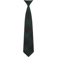 Blackwatch Plaid Clip-On Neck Tie