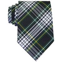 Campbell Plaid Clip-On Neck Tie