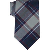 Dunbar Plaid Clip-On Neck Tie