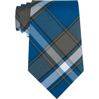 Grant Plaid Clip-On Neck Tie