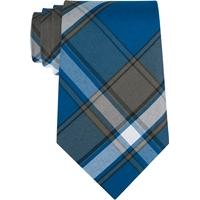 Grant Plaid Clip-On Neck Tie