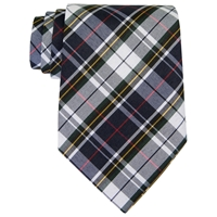 Marymount Plaid Clip-On Neck Tie