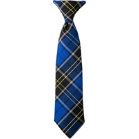 Mayfair Plaid Clip-On Neck Tie
