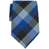 Hastings Plaid Clip-On Neck Tie