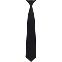 Black Clip-On Neck Tie