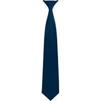 Navy Clip-On Neck Tie