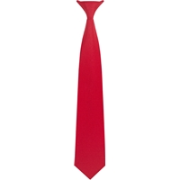 Red Clip-On Neck Tie