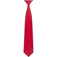 Red Clip-On Neck Tie
