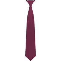 Wine Clip-On Neck Tie