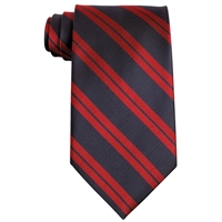 Hampshire Navy w/ Red Stripe Clip-On Neck Tie