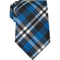 Tie Redi Knot-Adjustable-Rampart Plaid