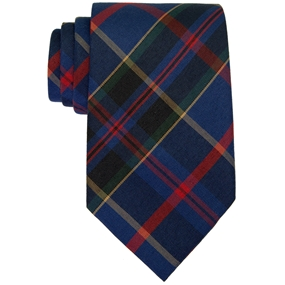 Wilson Plaid Adjustable Neck Tie