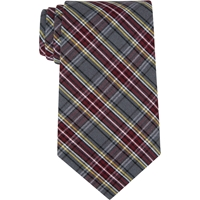MM Plaid Adjustable Neck Tie