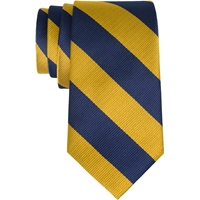 Navy/Gold Adjustable Neck Tie