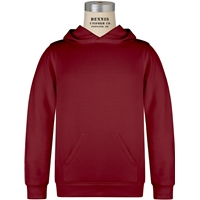 Cardinal Hooded Sweatshirt with School Logo