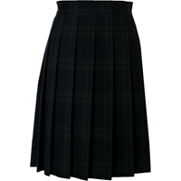 Blackwatch Plaid Knife Pleated Skirt