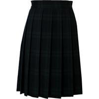 Blackwatch Plaid Knife Pleated Skirt