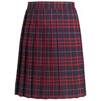 Hamilton Plaid Knife Pleated Skirt