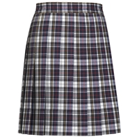 Marymount Plaid Knife Pleated Skirt