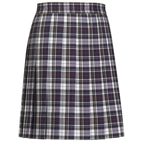 Marymount Plaid Knife Pleated Skirt