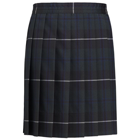 Columbia Plaid Knife Pleated Skirt