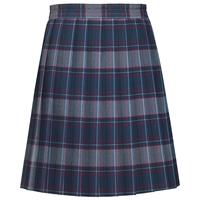 Dunbar Plaid Knife Pleated Skirt