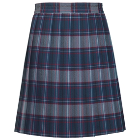 Dunbar Plaid Knife Pleated Skirt