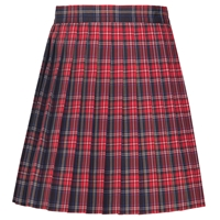 Macbeth Plaid Knife Pleated Skirt