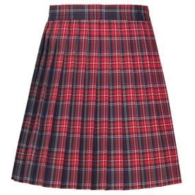 Macbeth Plaid Knife Pleated Skirt
