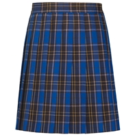 Mayfair Plaid Knife Pleated Skirt