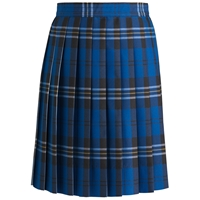 Harris Plaid Knife Pleated Skirt