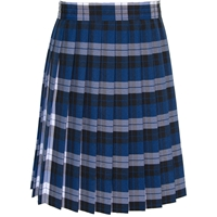 Morris Plaid Knife Pleated Skirt