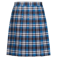 Rampart Plaid Knife Pleated Skirt
