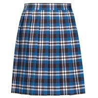 Rampart Plaid Knife Pleated Skirt